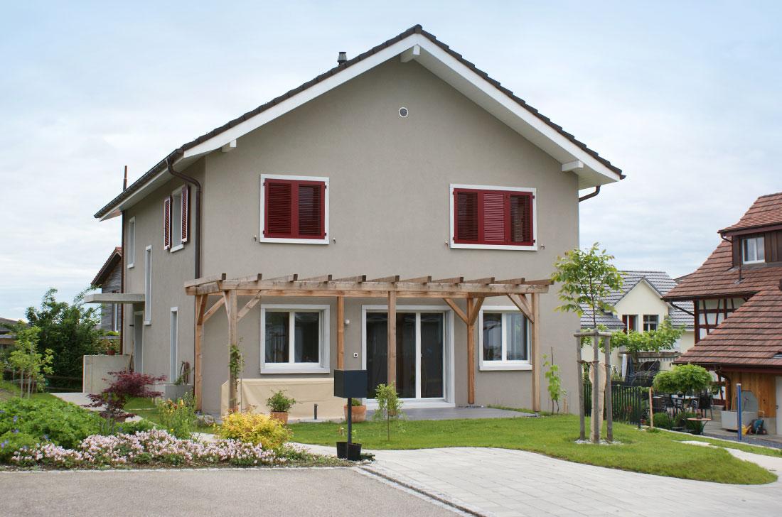 Einfamilienhaus Bau Dienstleister