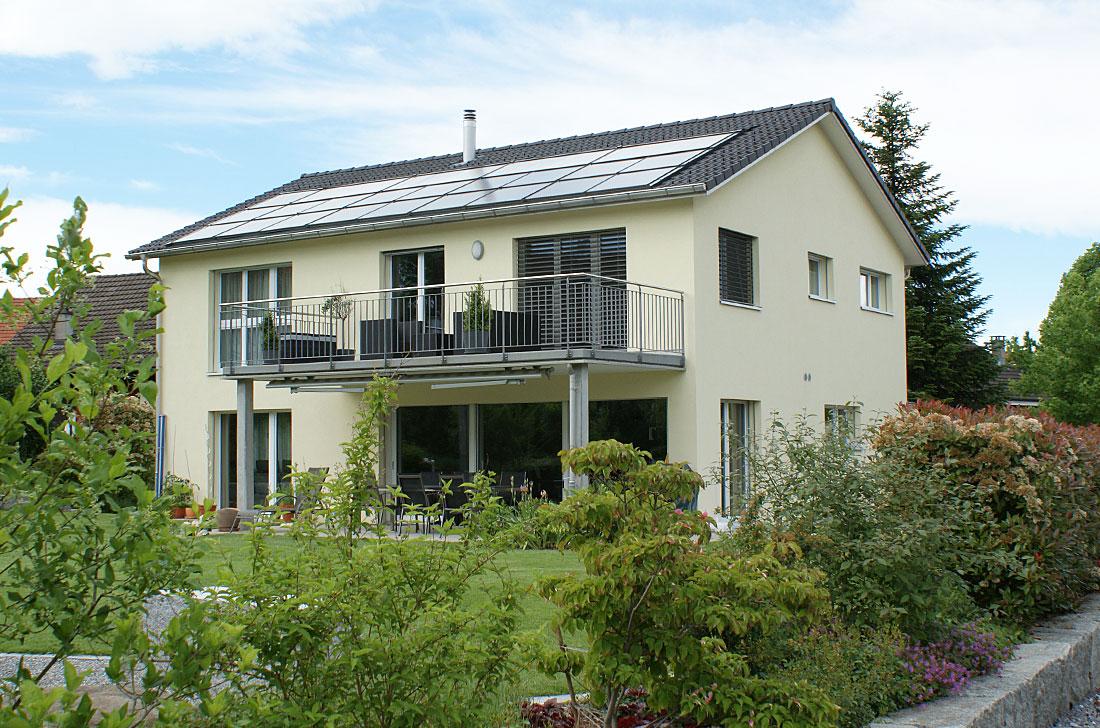 Einfamilienhaus Bauvorhaben