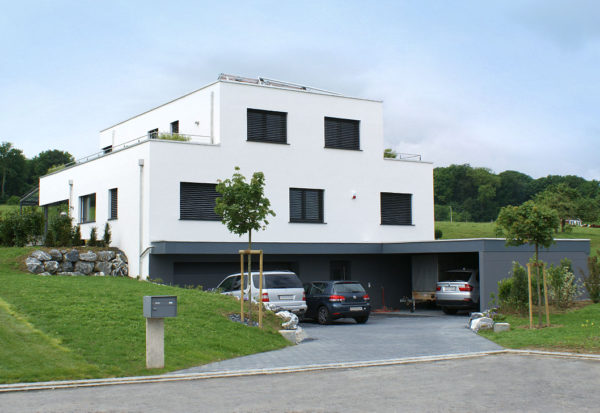 Einfamilienhaus Bau