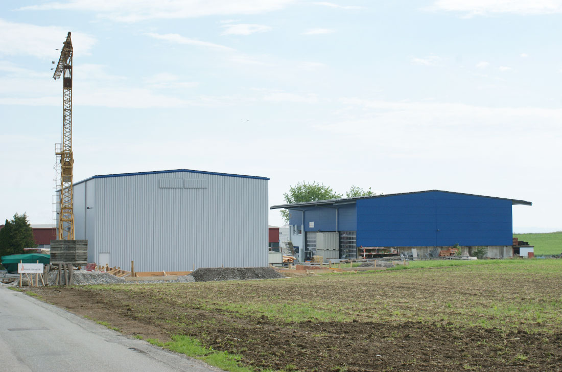 Industrie-Bau