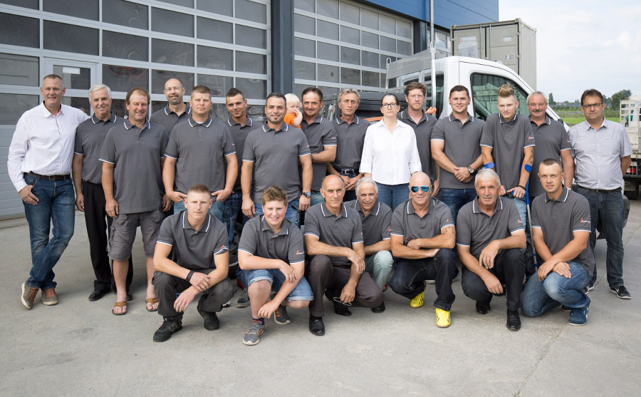 Teamphoto Häberlin + Fenners