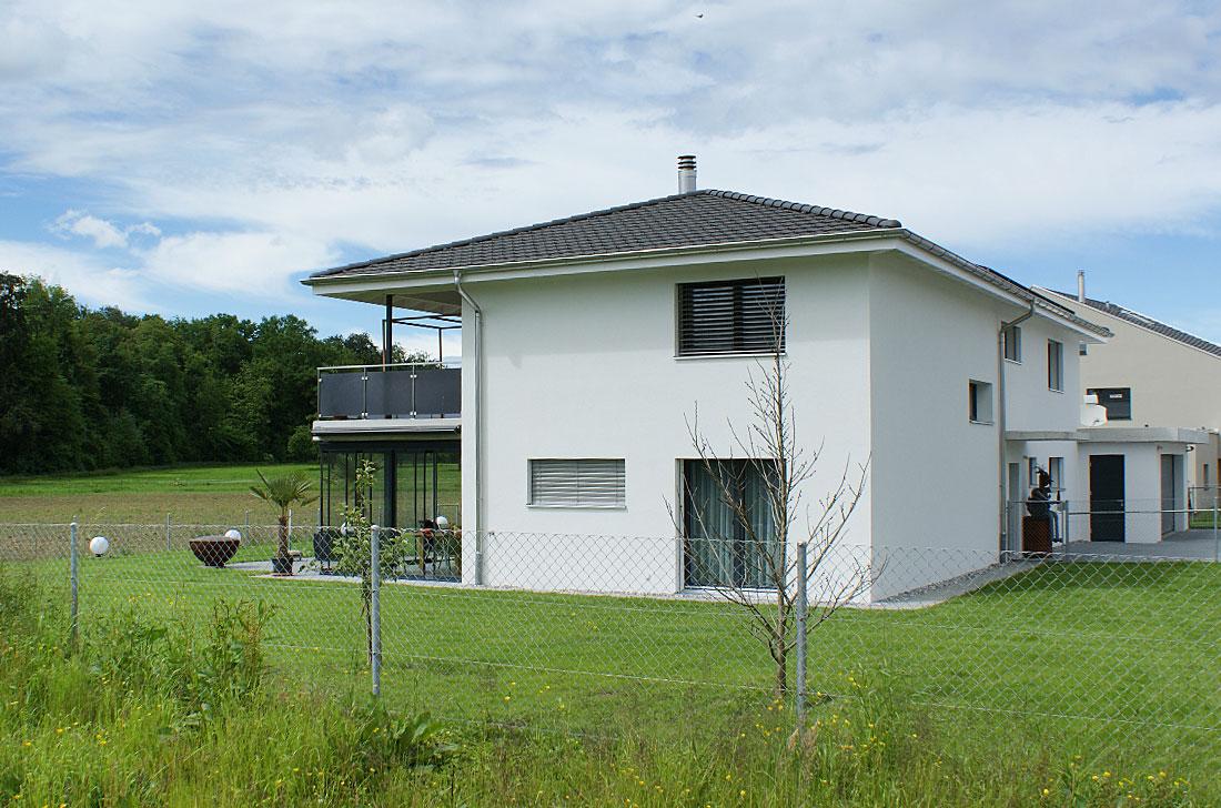 Einfamilienhaus Bauprojekt