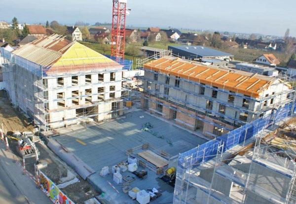 Neubau Raiffeisenbank Altnau